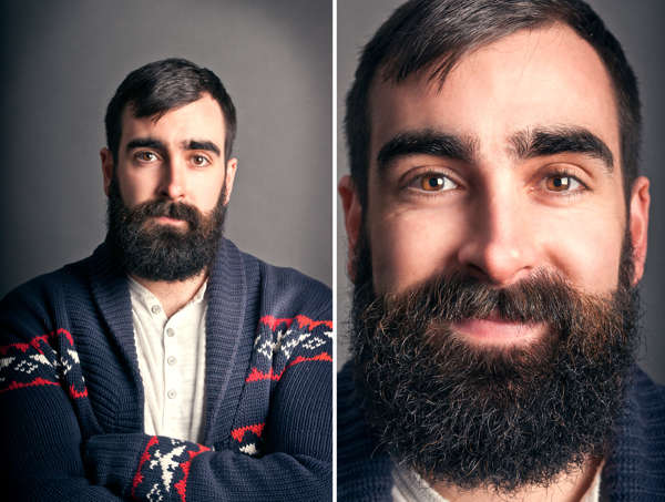 Facial Hair-Focused Photography