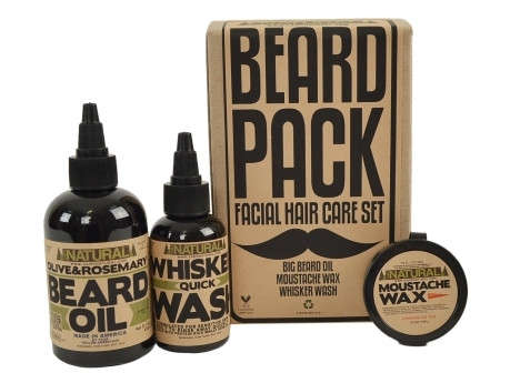 Facial Hair Grooming Kits : Beard Pack