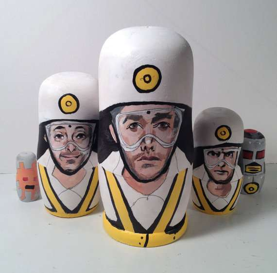 Hip-Hop Hero Matryoshkas