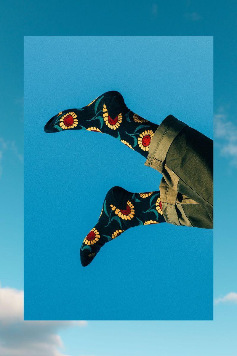 Whimsical Band-Inspired Socks