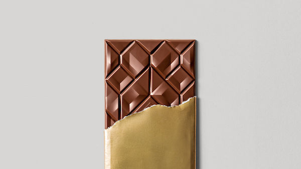 Geometrically Patterned Chocolates