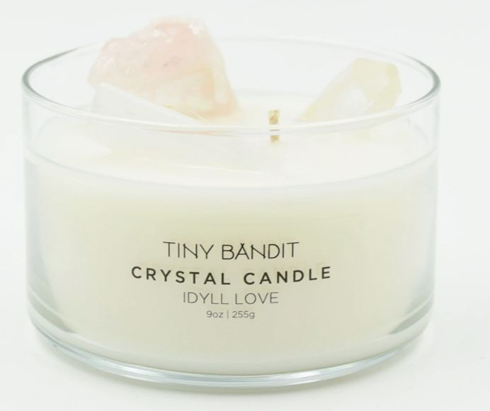Romantically Beautiful Crystal Candles