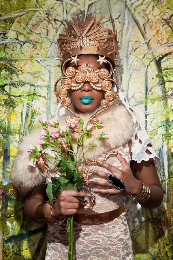 Eccentrically Futuristic Fashion