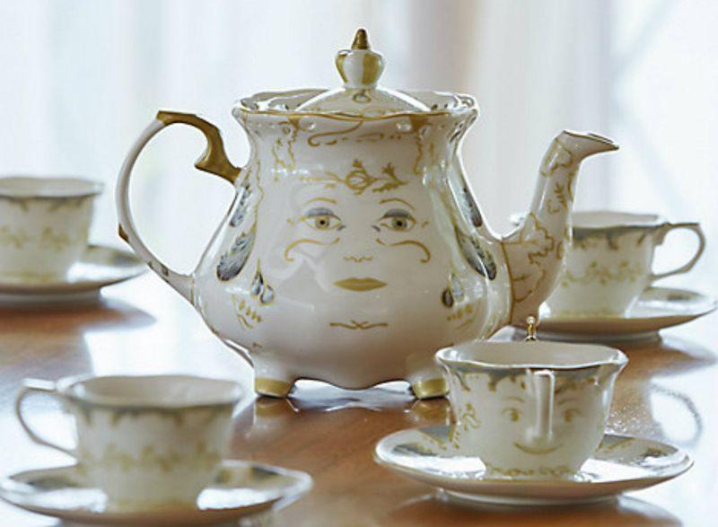 Authentic Disney-Themed Tea Sets
