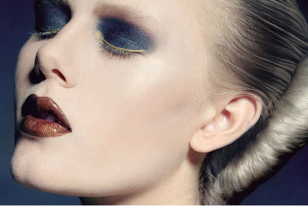 Beetle-Hued Beauty Editorials