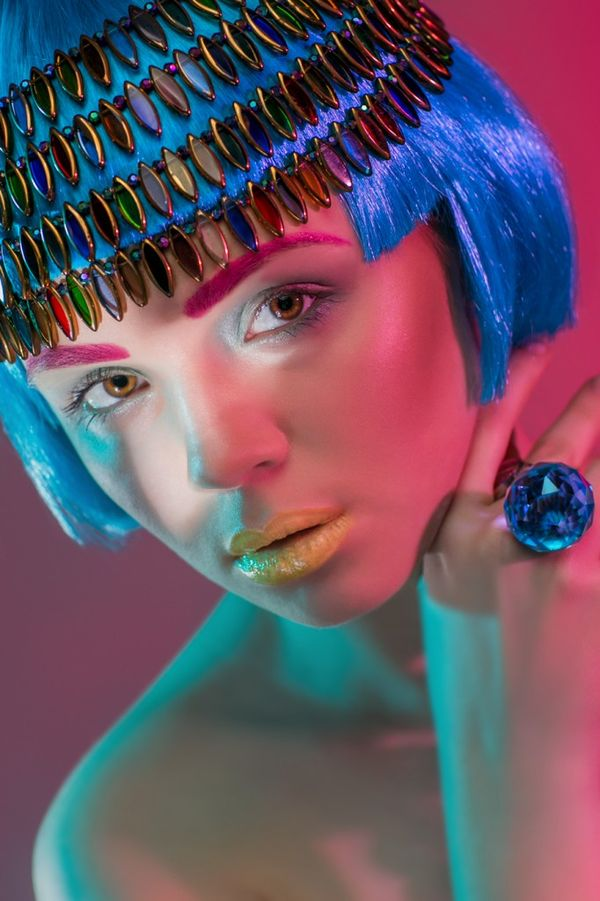Neon Egyptian Editorials