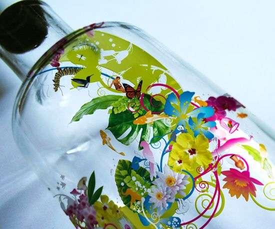 Illustrated Water Bottles