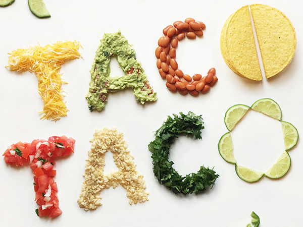 Fresh Veggie Typography