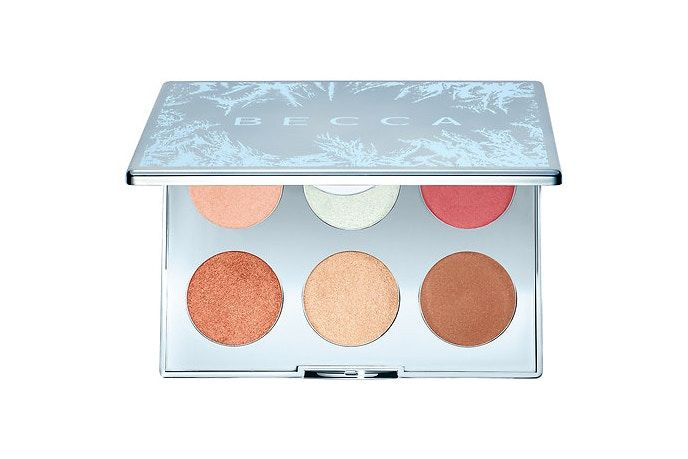 Slope-Inspired Cosmetic Palettes