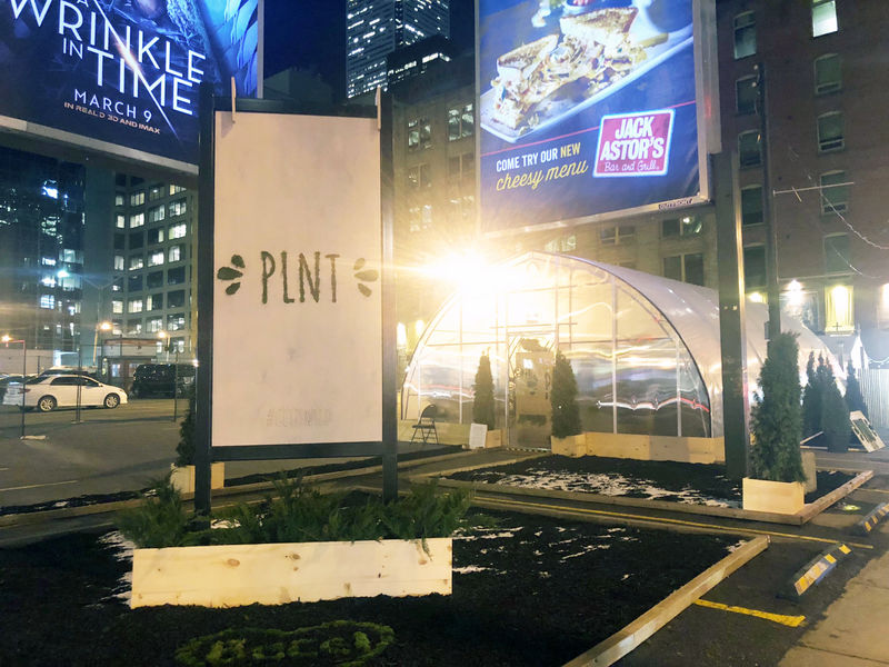 Plant-Based Pop-Up Restaurants