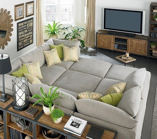 Gigantic Sectional Sofas : pit sofa sectional - Sectionals, Sofas & Couches