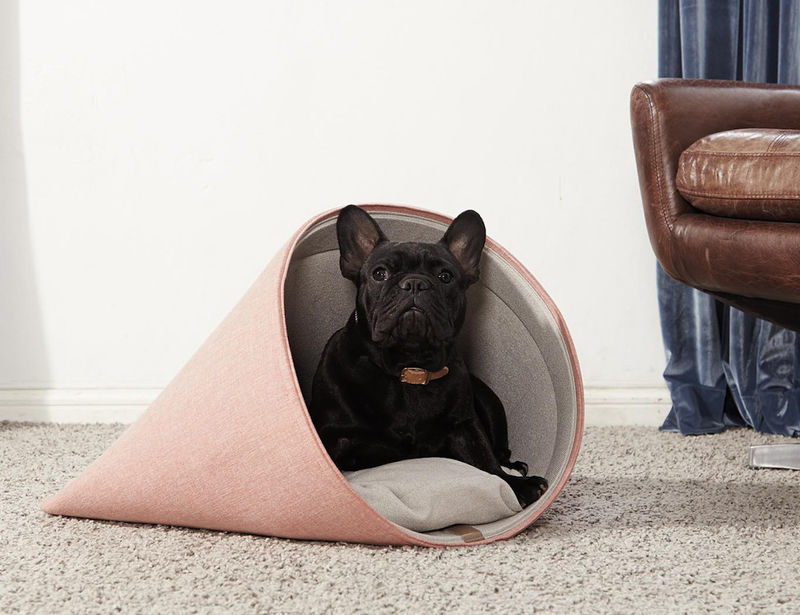 Chic Conical Canine Beds