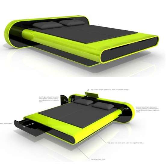 Flashy Designer Beds