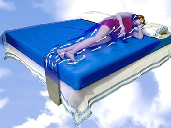 Bed Fans Cool Down Between The Sheets With This Innovative Design