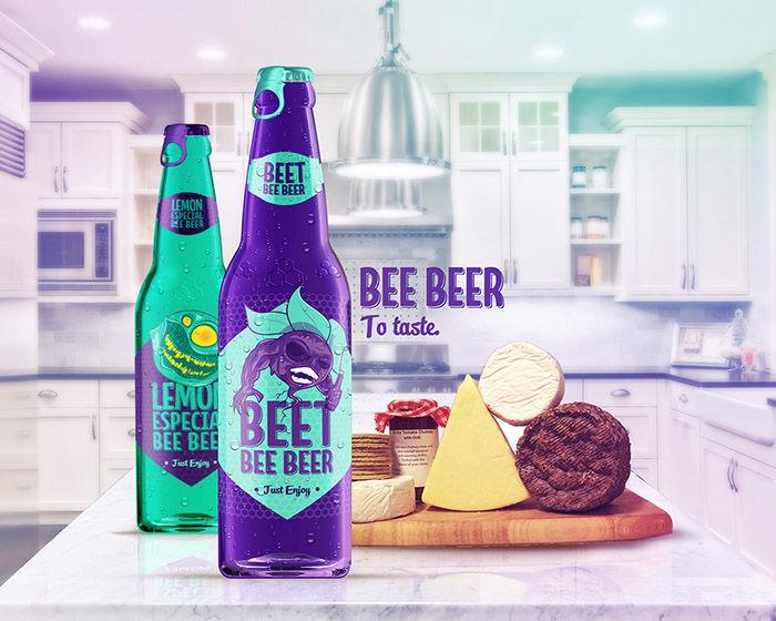 Neon Beer Packaging