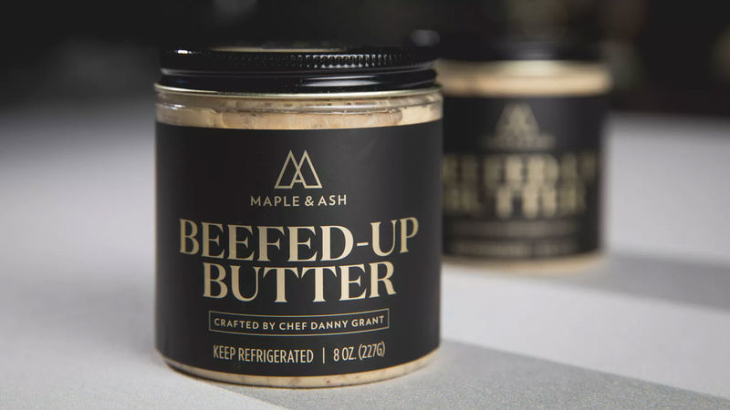 Beef Jus-Infused Butters