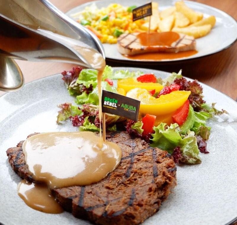Whole-Cut Vegan Steaks