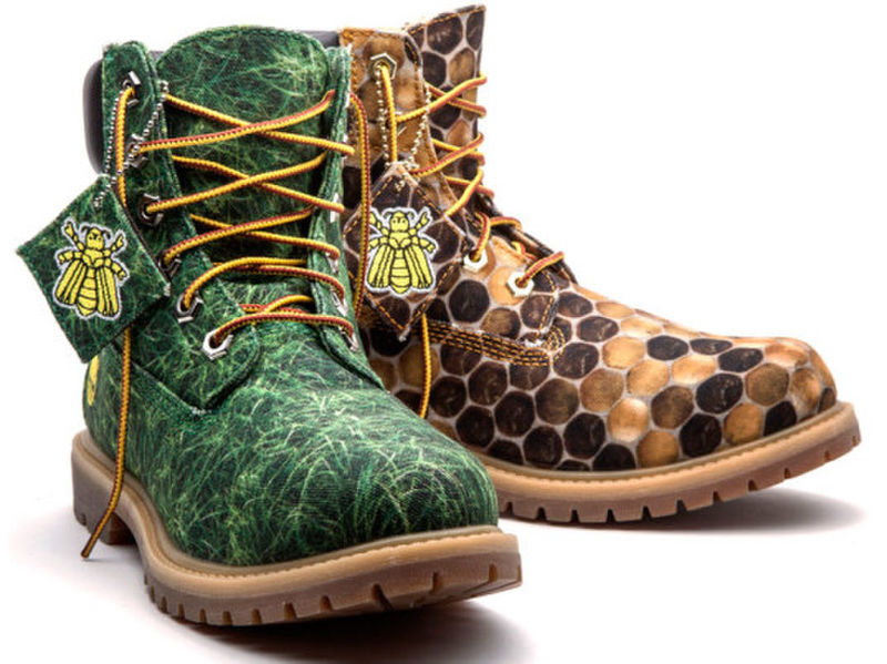 Bee-Inspired Boots
