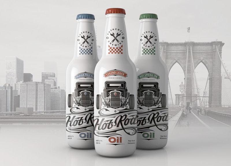 Car Culture Beer Branding
