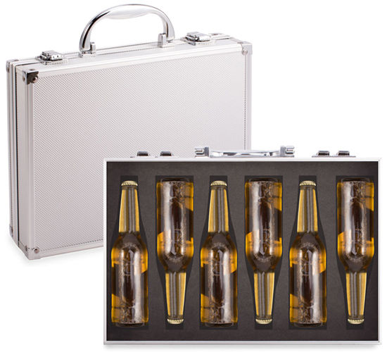 Briefcase Beer Packaging