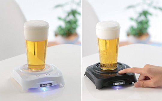 Beer Lather-Generating Devices