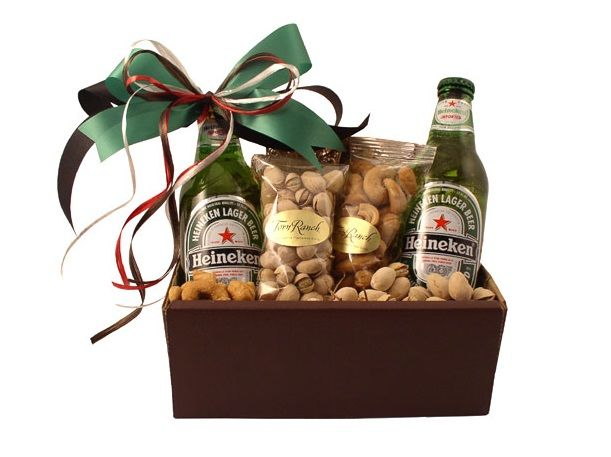 Beer Snack Baskets
