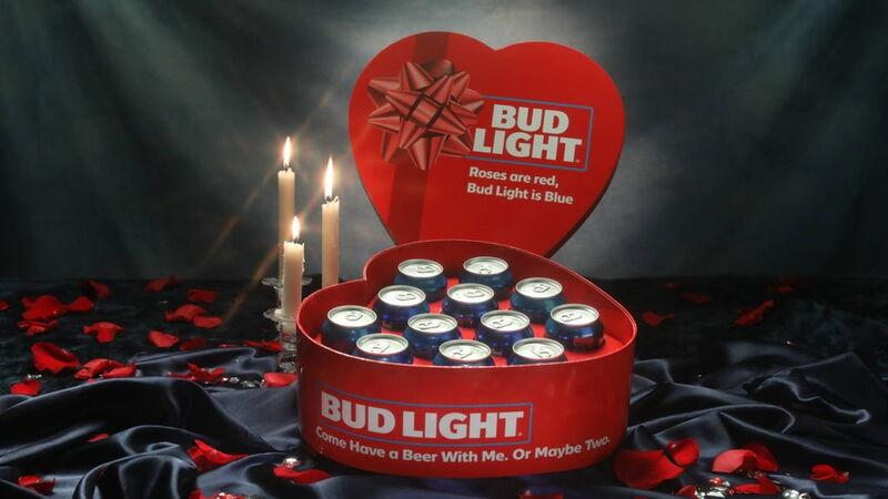Heart-Shaped Beer Packs
