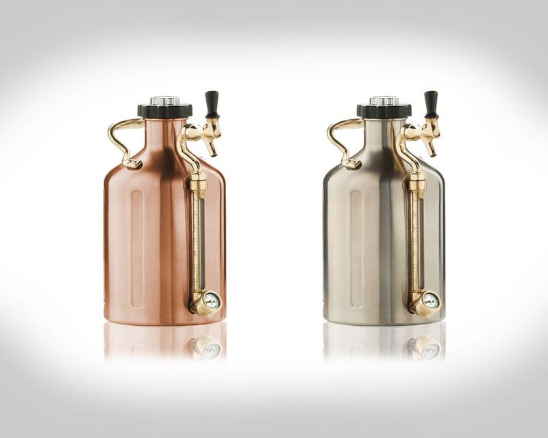 Pressurized Beer Growlers
