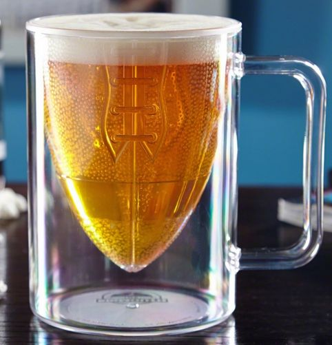 Sporty Football Pint Glasses