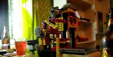Beer Opening LEGO Robot