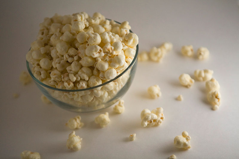 Beer-Infused Popcorn Snacks