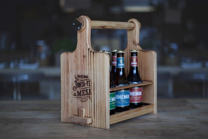 Multipurpose Rustic Six-Packs