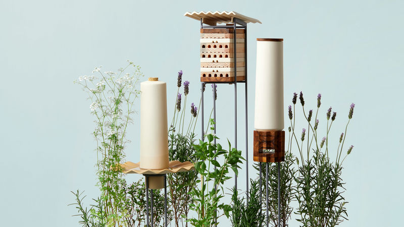 Solitary Bee-Accommodating Objects