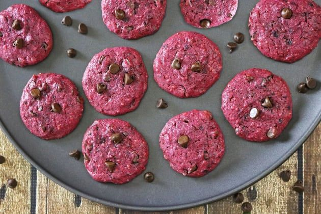 Beetroot Biscuit Snacks