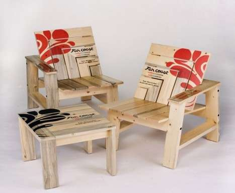 Recycled Olympic Furniture