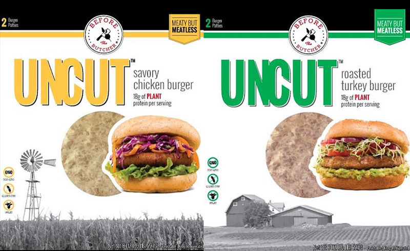 Poultry-Inspired Plant-Based Burgers