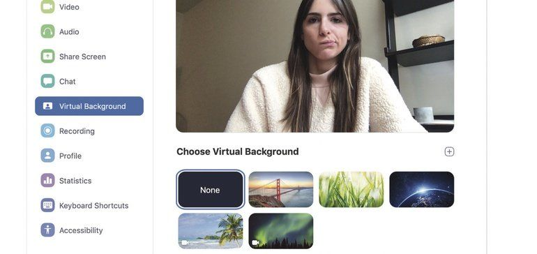 Enhanced Video Backgrounds