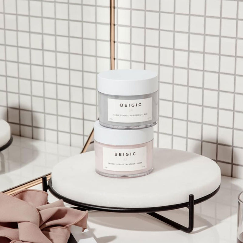 Caffeinated K-Beauty Skincare - Beigic's Skincare Products are Powered by Green Coffee Beans (TrendHunter.com)