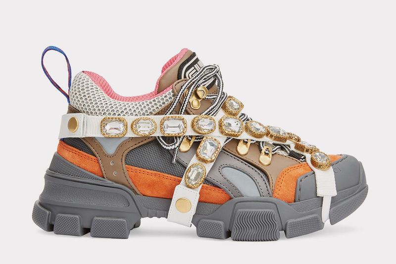 Chunky Bejeweled Sneakers