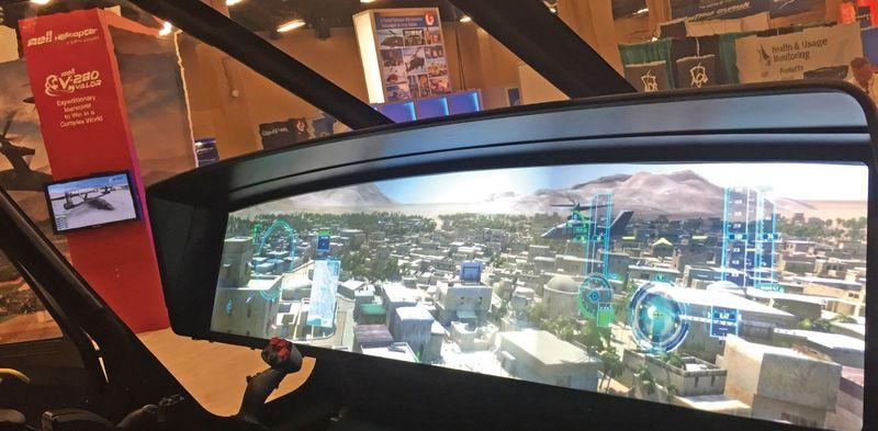 Single-Screen Military Cockpits