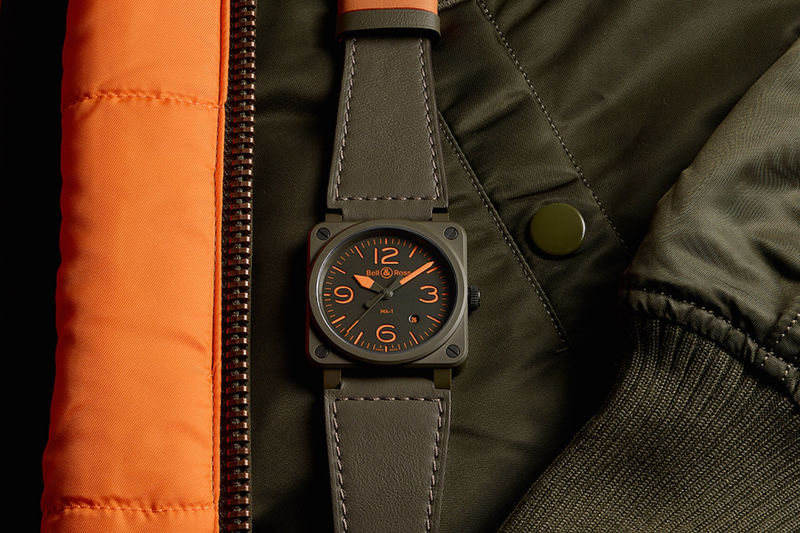 Bomber Jacket-Inspired Watches