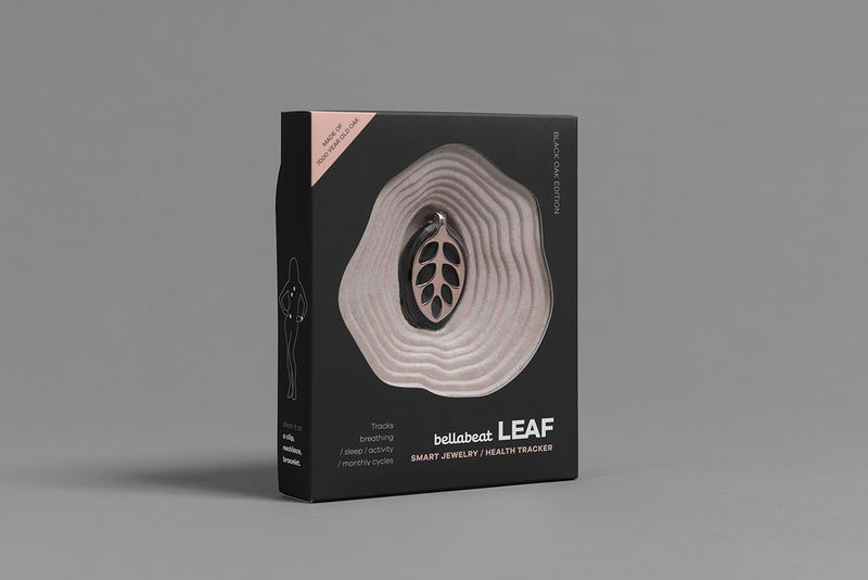 Fitness-Tracking Jewelry Packaging