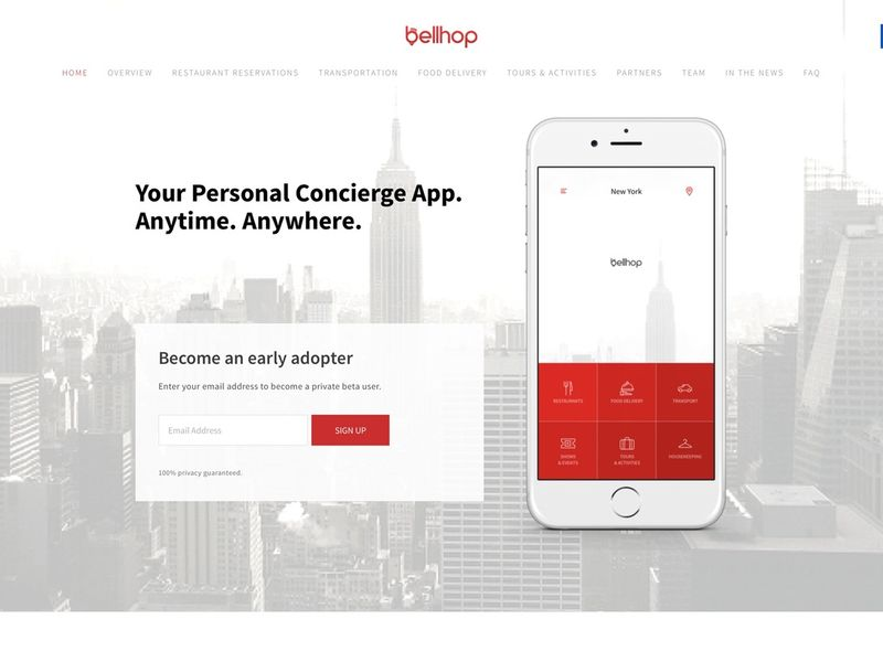 On-Demand Concierge Apps