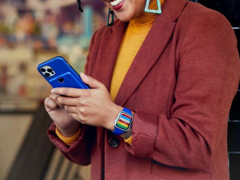 Hybrid Material Smartwatch Straps