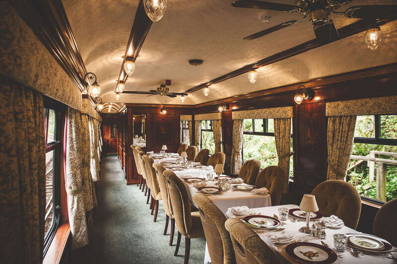 Luxurious Hotel-Equipped Trains