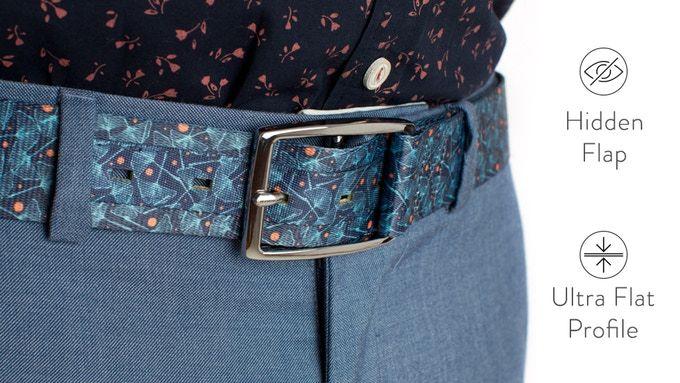 Reinveted Belt Designs