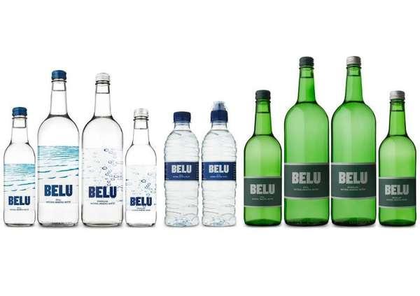 Chic Carbon Neutral Aqua Companies : Belu Water