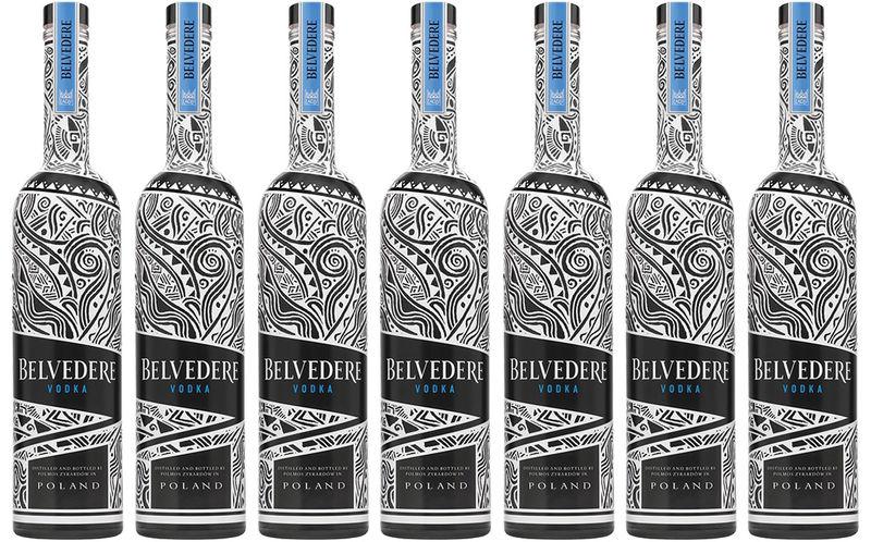 UV-Reactive Vodka Packaging