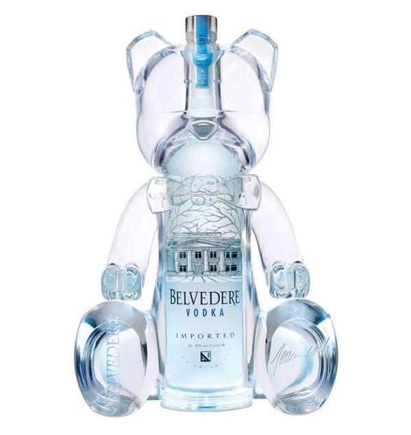 Teddy Bear Liquor Bottles