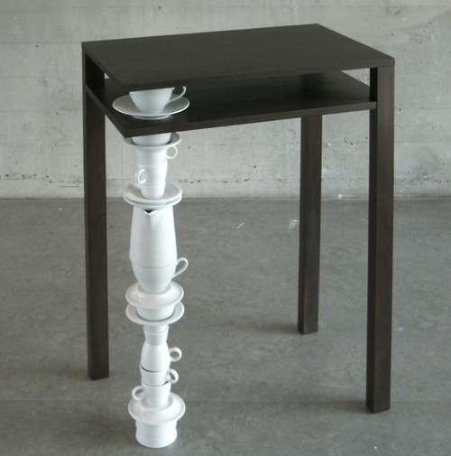 Tea-Legged Desks